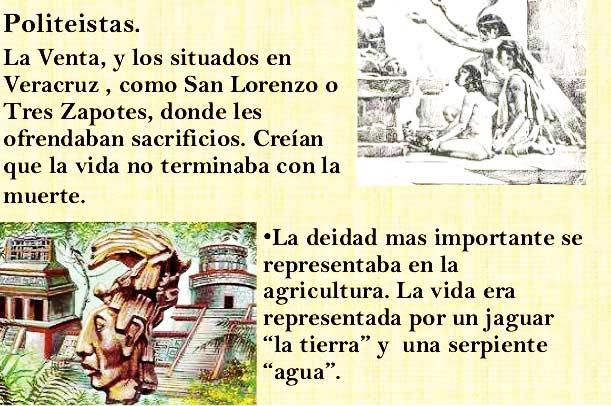 Religión de la cultura Olmeca